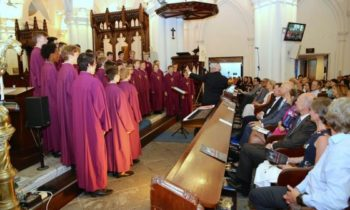 Norwegian Boys' Choir attracts 850 guests to church concert