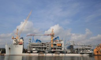 SembMarine delivers record-large platform topsides for Norway