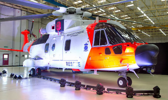 Aircraft deliveries to the Royal Norwegian Air Force, who will fly and operate the helicopters, will start in March 2017 and continue through to 2020. Leonardo-Finmeccanica Photo