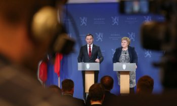 Duda discusses bilateral relations on Norway visit