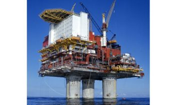North Sea platform evacuated after leak