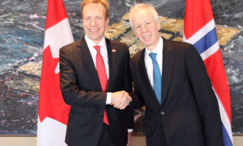 Strong ties between Norway and Canada