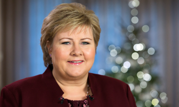 Norwegian Prime Minister Erna Solberg speaks about Child Welfare Service of Norway