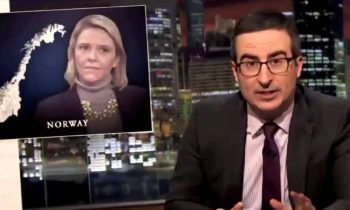 John Oliver – Norway to turn back asylum seekers on Swedish Border