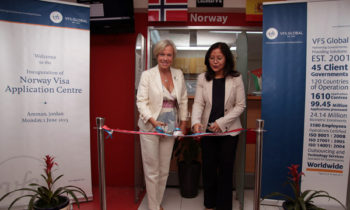 Norway opens first visa application centre in Amman