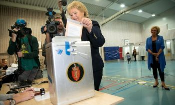 Norwegian parties conclude coalition government talks
