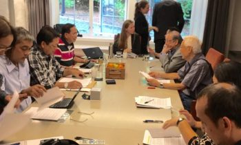 CPP-NDF representatives arrive in Norway for talks
