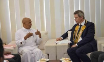 Norway's Foreign Ministry State Secretary meets Northern Province Governor