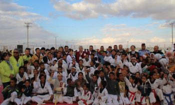 The World Taekwondo Federation opened a refugee camp in Jordan last year