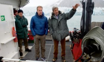 Kerry eyewitnessed melting Arctic