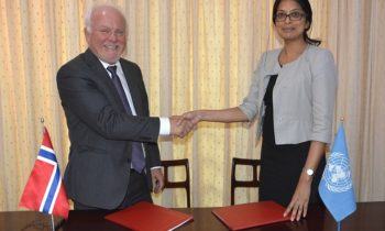 UNDP - Norway Signing