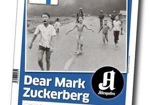 Aftenposten criticises Facebook for deleting iconic war photo