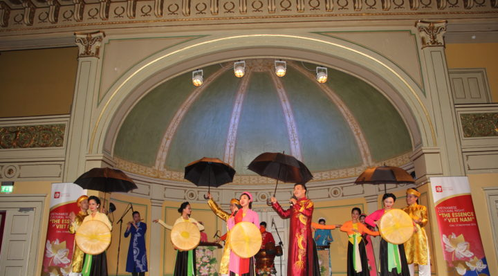"""Quan ho Bac Ninh"" folk singing- world intangible cultural heritage, recognized by UNESCO (the folk singing is from Bac Ninh province, near Ha Noi)"