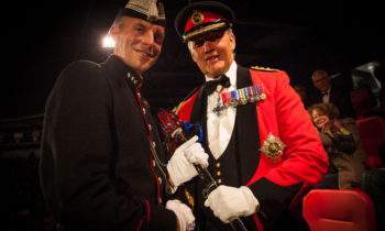 His Majesty The King's Guard of Norway Drill Team win prestigious award at The Royal Edinburgh Military Tattoo
