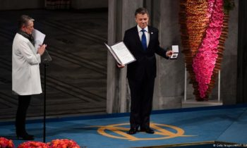 Colombia's Nobel Peace Prize winner linked to bribe: $1 Million USD in 2014