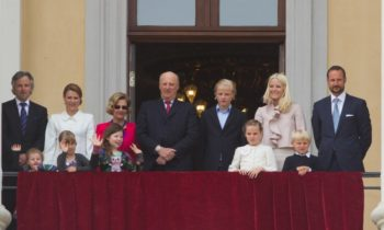 The Norwegian Royal family's Christmas Eve