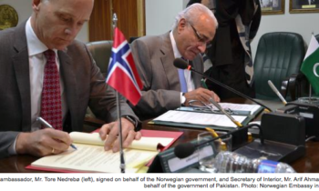 Readmission Agreement between Norway and Pakistan signed