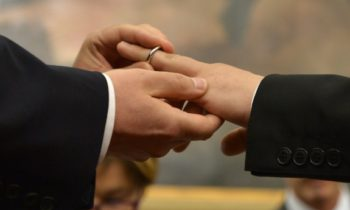 First same sex wedding takes place in Norway