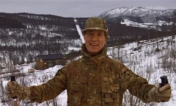 UK MP left out in cold at Royal Marines training in Norway