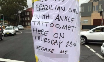 Norwegian man posts advertisement for Brazilian woman to contact him