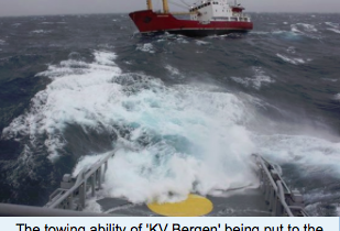 Busy period for Norwegian Coast Guard