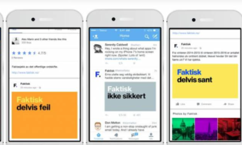 Rivals become partners in Norway's newest fact-checking project