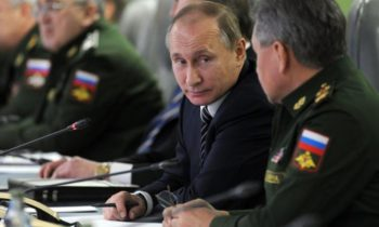 Russian military checking military activity in Norway