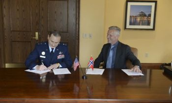 U.S. Strategic Command, Norway sign agreement to share space services, data