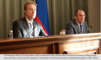 Norwegian MFA Confirms bilateral meeting between Brende and Lavrov