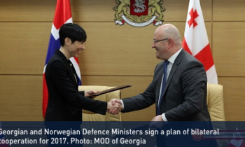 Georgia and Norway sign defence cooperation agreement