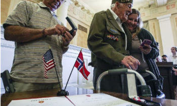 Norway honors vet for role in WWII liberation