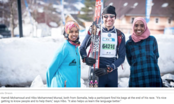 Meet the community of refugees in the Olympic town of Lillehammer, Norway