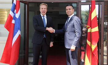 Norway supports Macedonia's NATO and EU integration