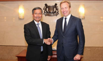 Norway's Foreign Affairs Minister visits Singapore, reaffirms relations between two countries