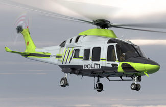 Norwegian Police opts for AW169 as counter terrorism tool
