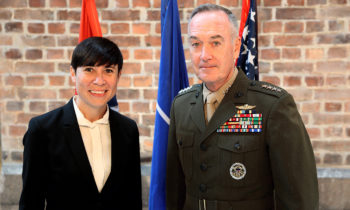 Chairman of the USA's Joint Chiefs of Staff visited Oslo