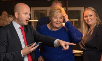 Norway has reelected its center-right government