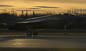 F-35 has arrived at Eielson with Norwegian test pilot