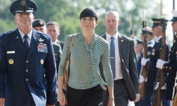Norway's first woman foreign minister