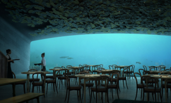 Europe's first underwater restaurant is coming to Norway