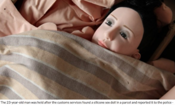 Norwegian man sentenced to 6 months in jail for buying child-like sex doll online