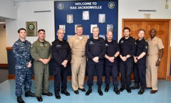 Chief of Norwegian navy visits NAS Jax