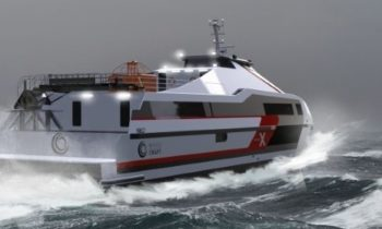 High performance crew transfer vessel is based on proven military design