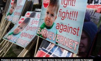 Protests mount against Norwegian Child Welfare Service