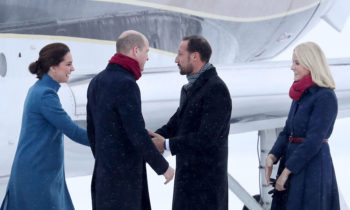 Prince William and Kate forced to miss first engagement in Norway