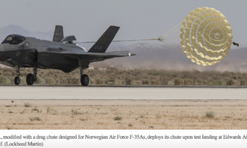 F-35, submarine programs on track for Norway