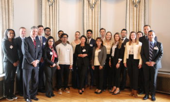 USA Ambassador Hosts Kick-Off Event for Rising Leaders Program
