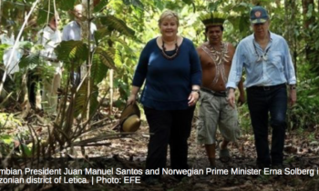 Norway Donates US$250 Million to Protect Colombian Rainforests