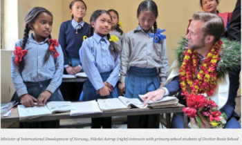 Norway willing to support Nepal to develop education sector