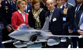 European arms deals 'at risk' over German defence spending row